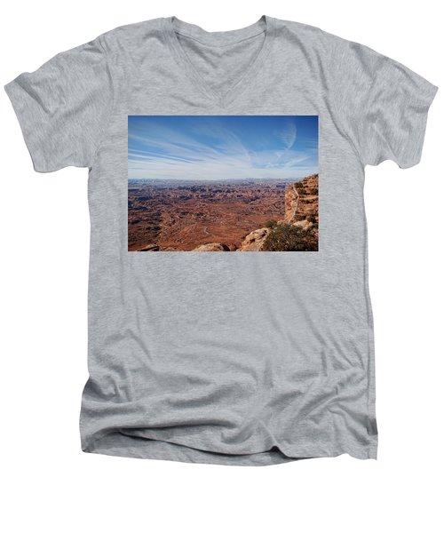 Moab  Men's V-Neck T-Shirt