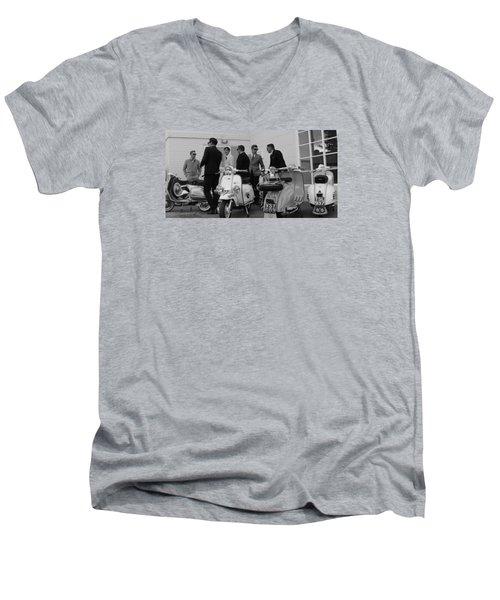 Mods And Suits Men's V-Neck T-Shirt