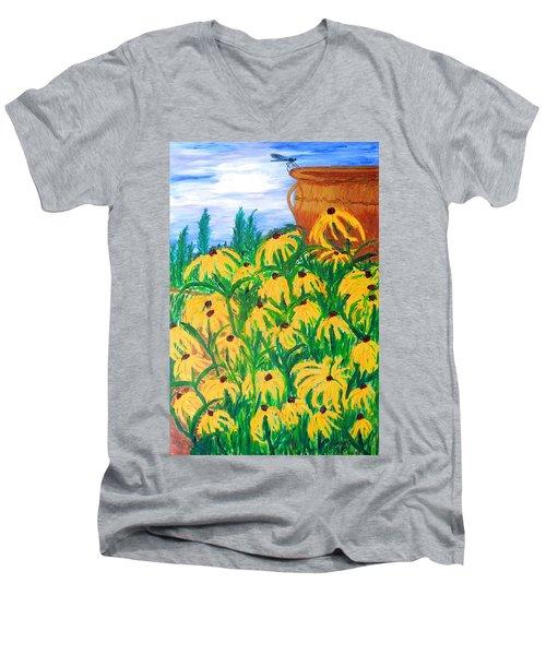 Moms Garden Men's V-Neck T-Shirt