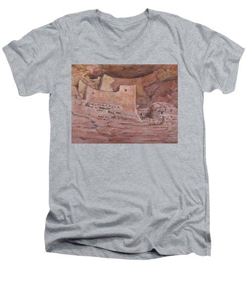 Montezumas Castle Men's V-Neck T-Shirt