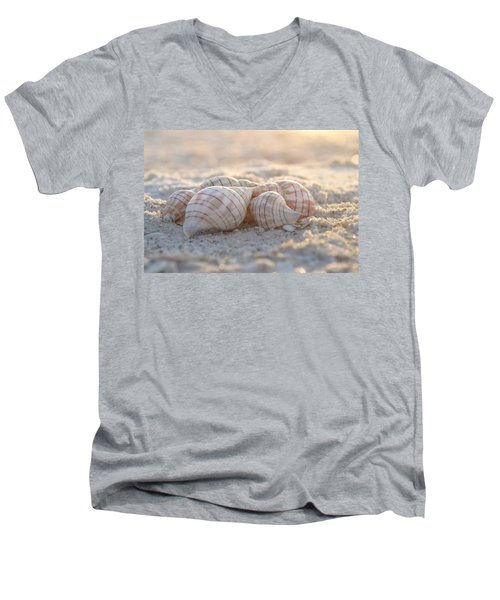 Men's V-Neck T-Shirt featuring the photograph Mood To Moment by Melanie Moraga