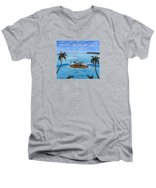 Morning Breeze Cruise Men's V-Neck T-Shirt