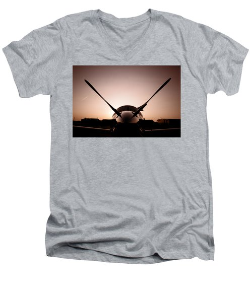 Morning Mercy Men's V-Neck T-Shirt by Paul Job