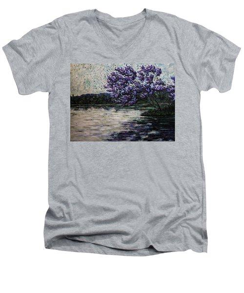Morning Reflections Men's V-Neck T-Shirt