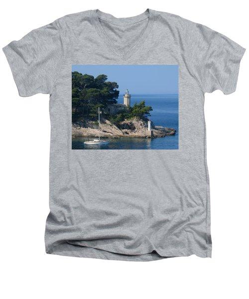 Morning Sail Men's V-Neck T-Shirt
