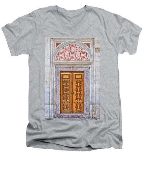 Mosque Doors 04 Men's V-Neck T-Shirt