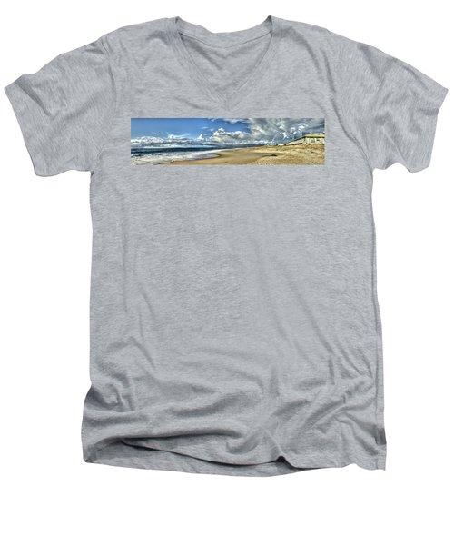 Moss Landing After The Rain 2 Men's V-Neck T-Shirt