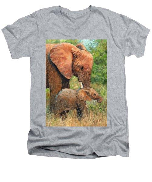 Mother Love 2 Men's V-Neck T-Shirt