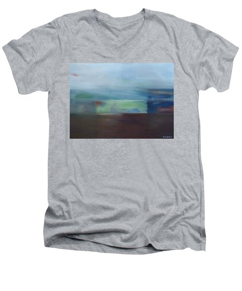 Motion Window Men's V-Neck T-Shirt