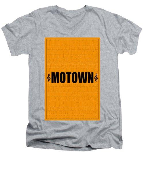 Motown Men's V-Neck T-Shirt