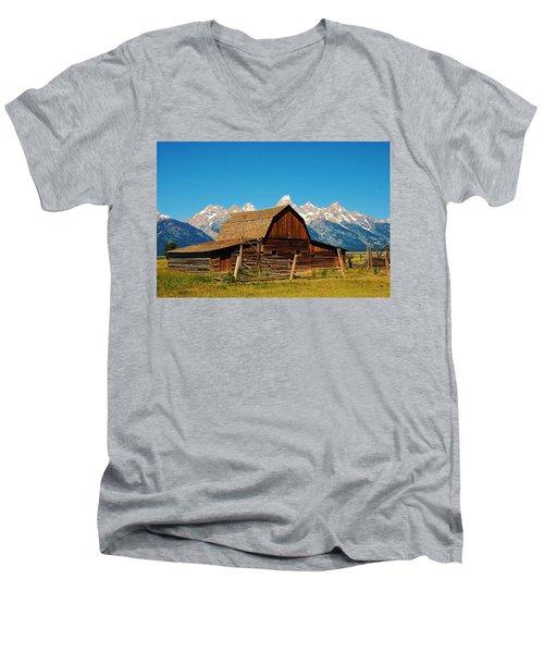 Moulton Barn Men's V-Neck T-Shirt
