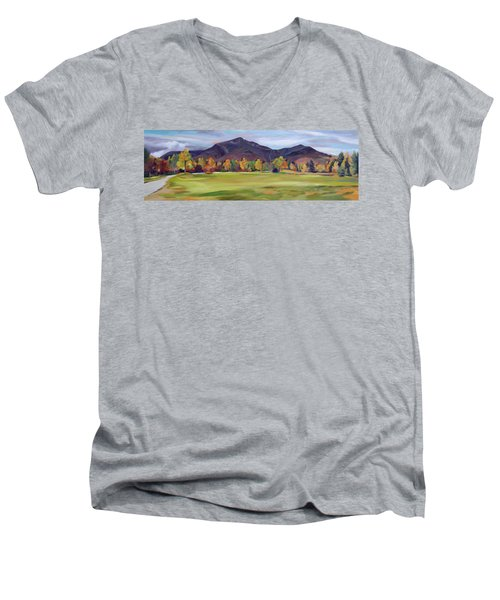 Mount Osceola New Hampshire Men's V-Neck T-Shirt