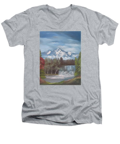 Mountain Dreams Men's V-Neck T-Shirt