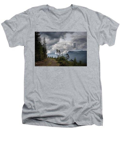 Mountain High Back Roads Men's V-Neck T-Shirt