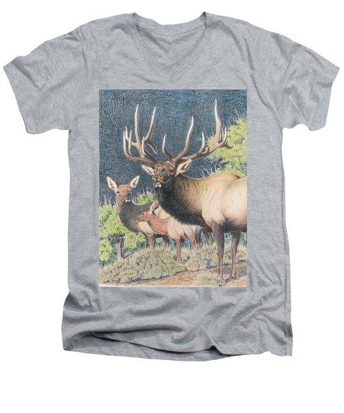 Mountain Monarch Men's V-Neck T-Shirt
