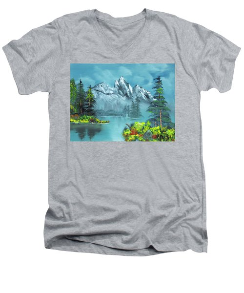 Mountain Retreat Men's V-Neck T-Shirt