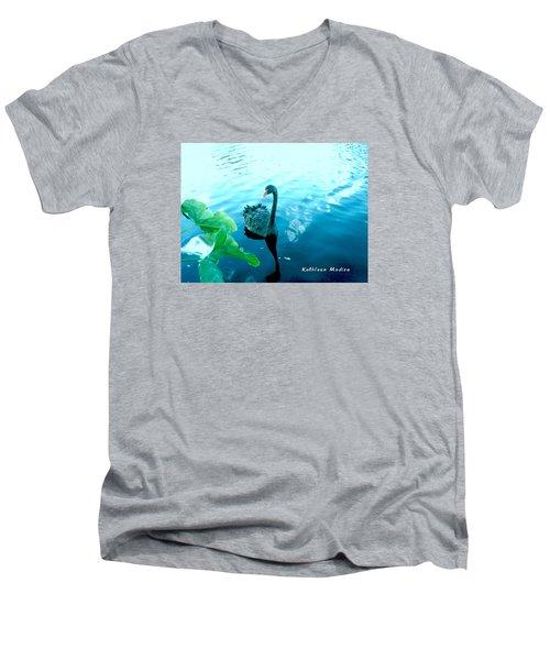 Mourning Swan Song Men's V-Neck T-Shirt