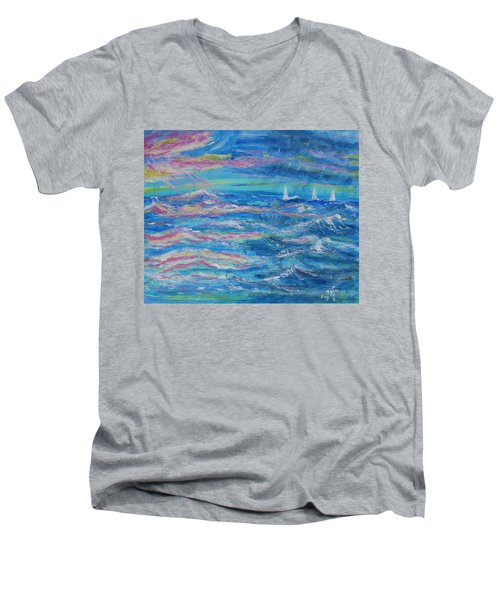 Movin' In Men's V-Neck T-Shirt