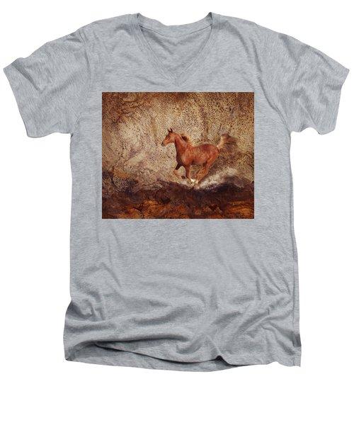 Movin' On Men's V-Neck T-Shirt