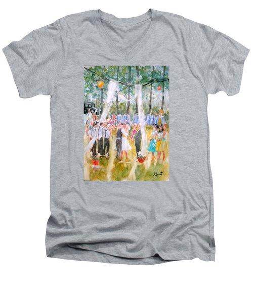 Mr. And Mrs. Matt Parker Men's V-Neck T-Shirt
