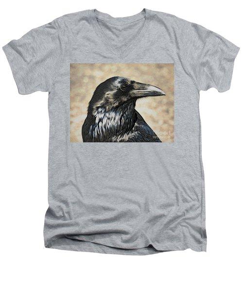Mr. Raven Men's V-Neck T-Shirt