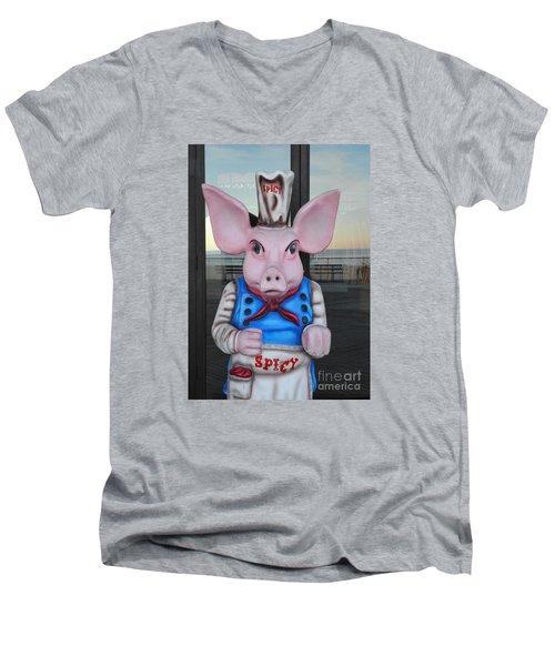 Mr. Spicy 2 Men's V-Neck T-Shirt