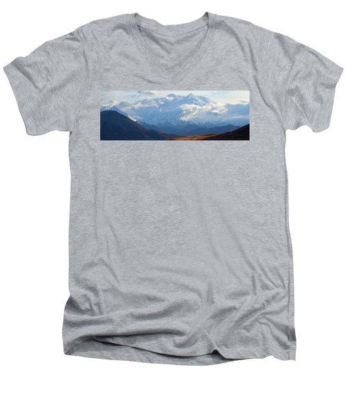 Mt. Denali Men's V-Neck T-Shirt