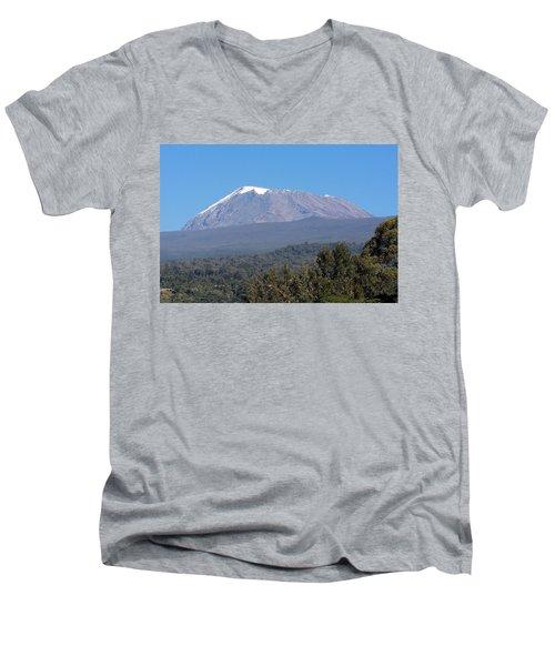 Mt Kilimanjaro  Men's V-Neck T-Shirt