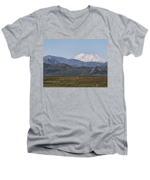Mt. Mckinley Aka Denali Men's V-Neck T-Shirt