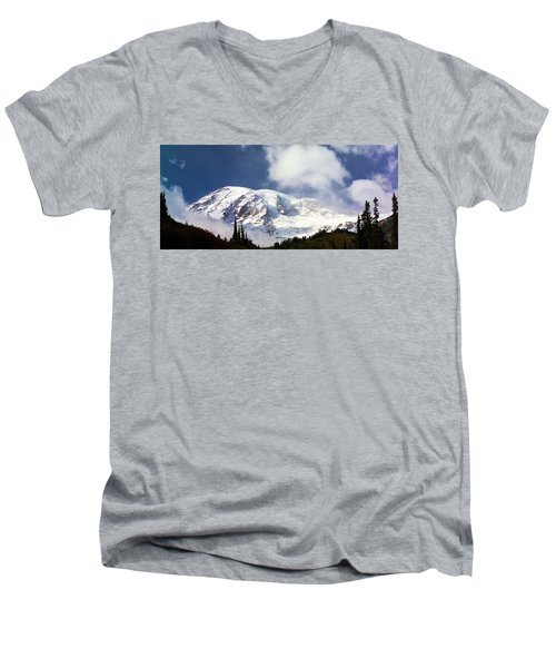 Mt Rainier II Men's V-Neck T-Shirt