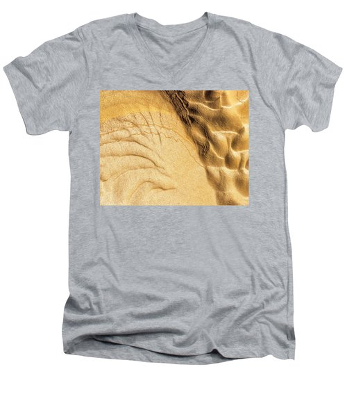 Mud Flare Men's V-Neck T-Shirt