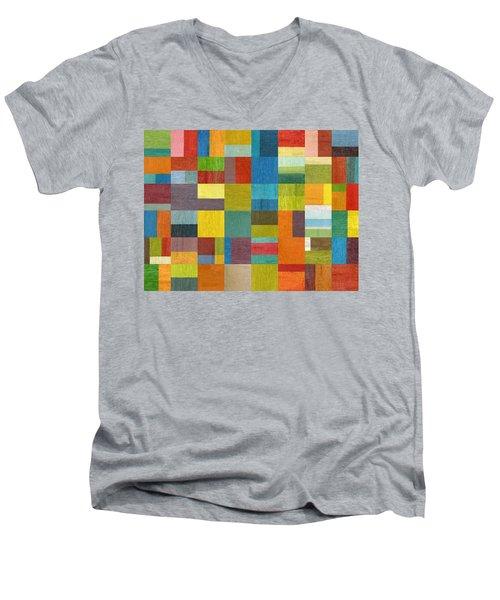 Multiple Exposures Lll Men's V-Neck T-Shirt