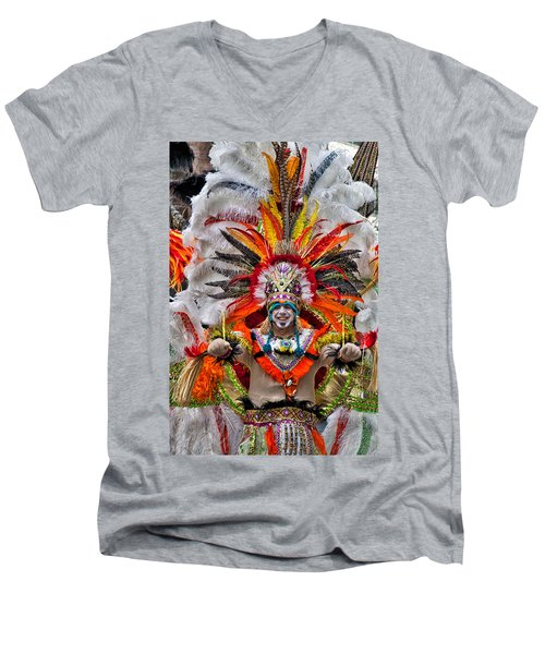Mummer Wow Men's V-Neck T-Shirt