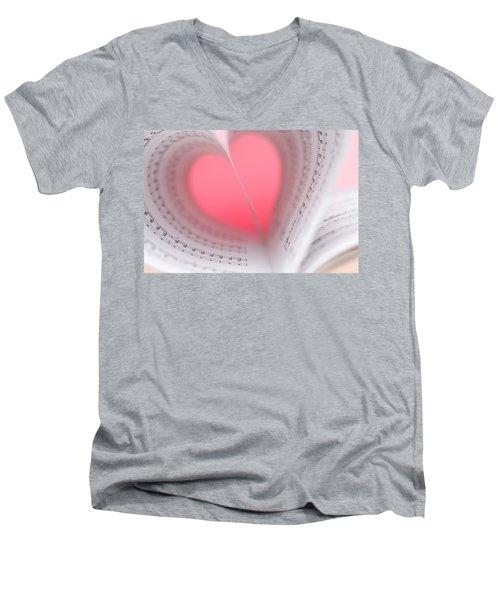 Music Lover Men's V-Neck T-Shirt