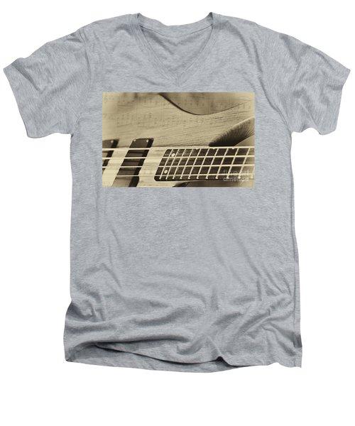 Musical Majesty Men's V-Neck T-Shirt by Erika Weber