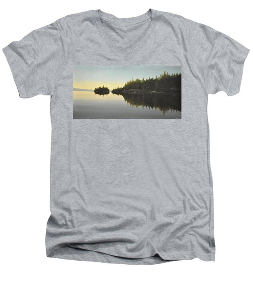 Muskoka Solitude Men's V-Neck T-Shirt