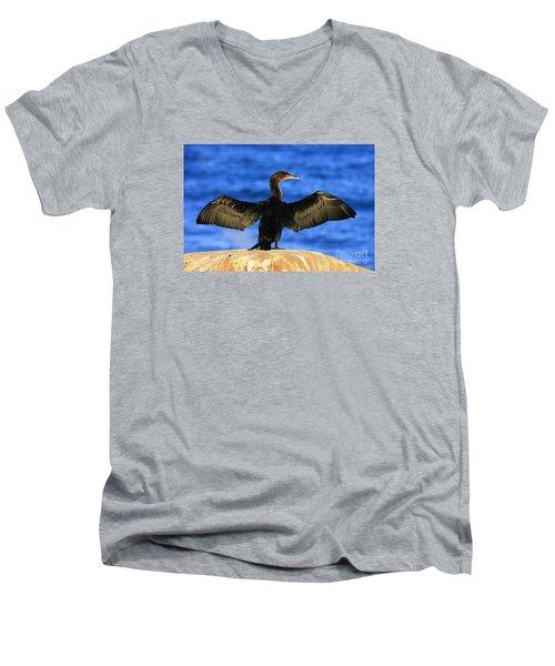 Men's V-Neck T-Shirt featuring the photograph Ocean Dreams by John F Tsumas