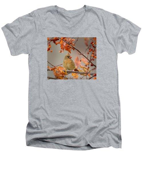 Fall Colors Men's V-Neck T-Shirt by Nava Thompson