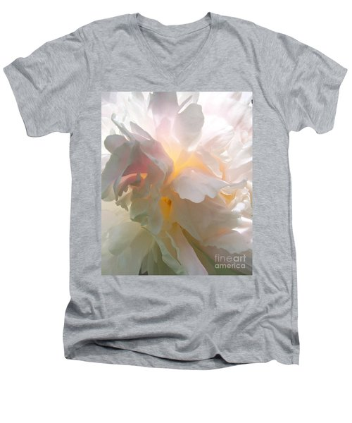 My Georgia O'keeffe Men's V-Neck T-Shirt by Amy Porter