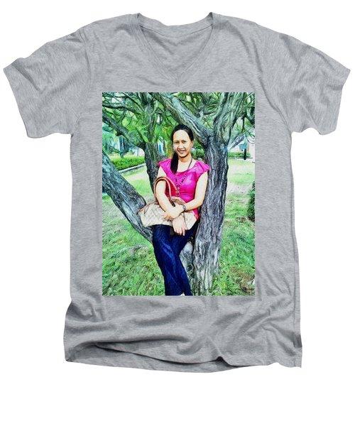 My Lovely Wife Men's V-Neck T-Shirt