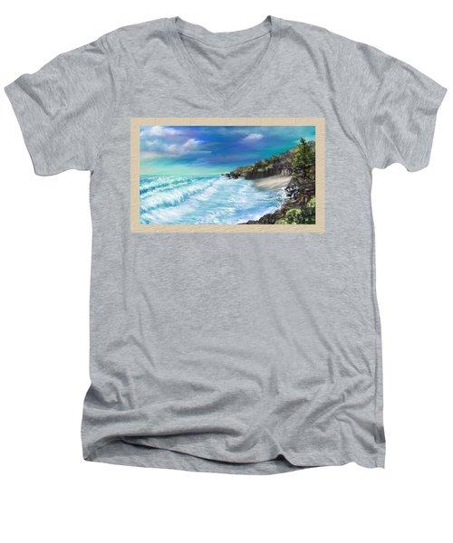 My Private Ocean Men's V-Neck T-Shirt