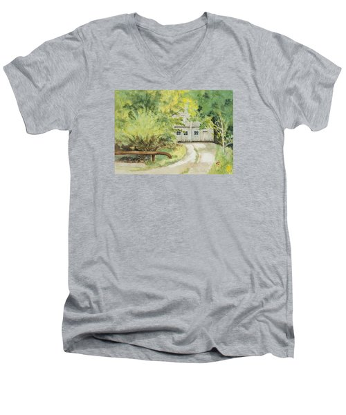My Secret Hiding Place Men's V-Neck T-Shirt