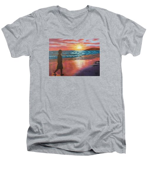 My Sonset Men's V-Neck T-Shirt
