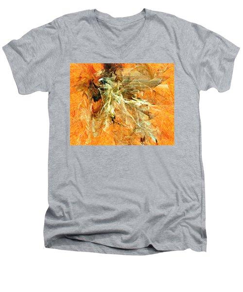 Mystery Paint Men's V-Neck T-Shirt
