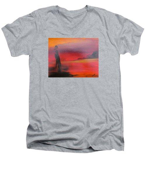 Mystery Men's V-Neck T-Shirt