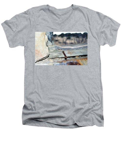Nail On The Trail Men's V-Neck T-Shirt