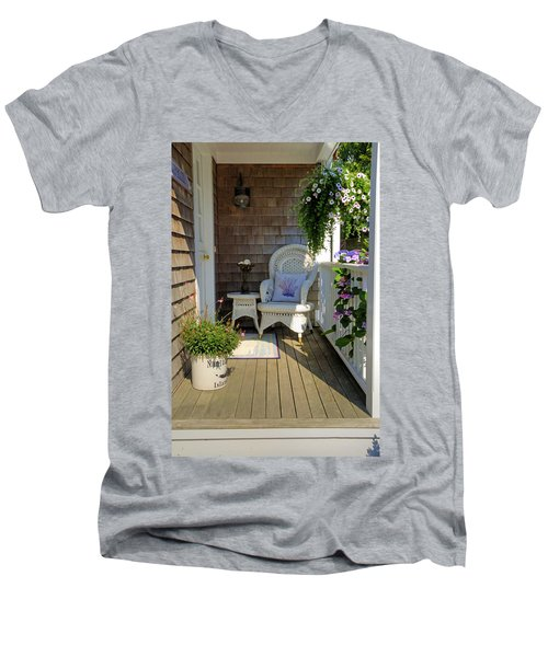 Nantucket Porch Men's V-Neck T-Shirt