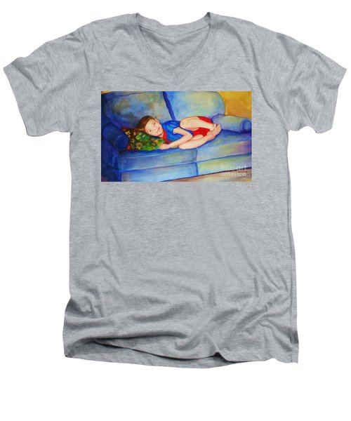 Nap Time Men's V-Neck T-Shirt