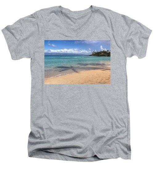 Napili Bay Maui Men's V-Neck T-Shirt