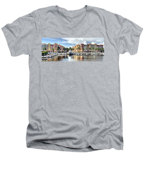Naples Bayfront Men's V-Neck T-Shirt